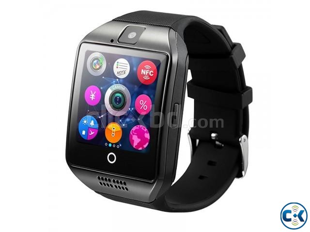 Q18 Sim supported Smart Mobile Watch Sim Gear intact Box | ClickBD large image 2