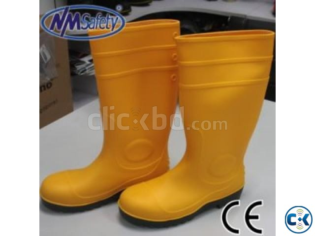 Safety Gum Boot with safety toe | ClickBD large image 0