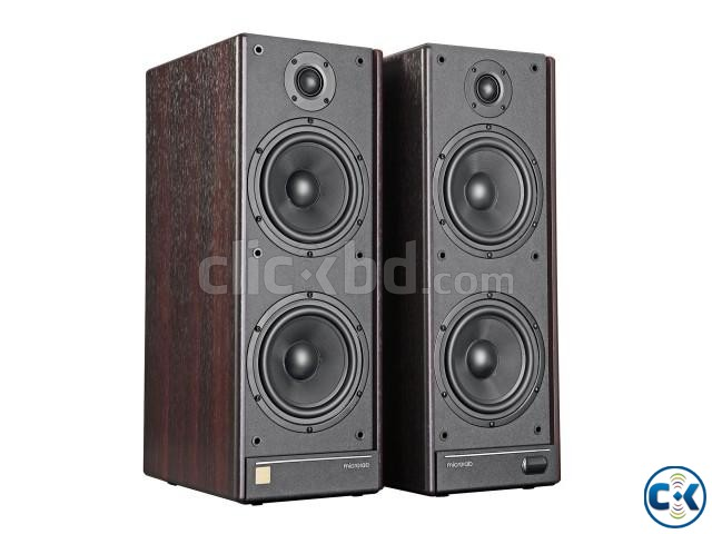 Microlab Solo 9C Wooden Cabinet Multimedia Stereo Speaker | ClickBD large image 2