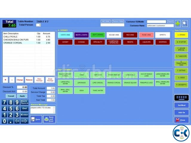 Restaurant Management Software | ClickBD large image 0