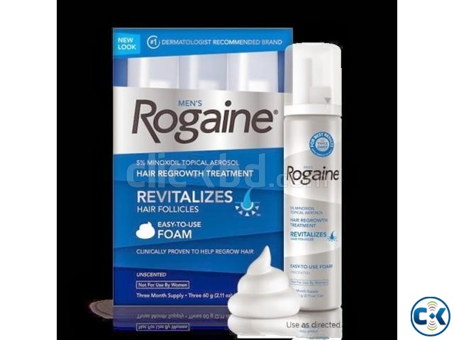 MEN S ROGAINE UNSCENTED FOAM | ClickBD large image 2