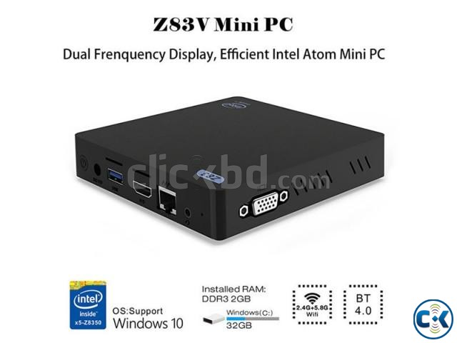 Z83V Genuine Win10 mini PC | ClickBD large image 2