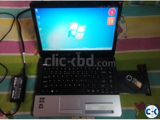 ACER BRAND NEW SLIM 500GB DUAL CORE LPTP | ClickBD large image 0