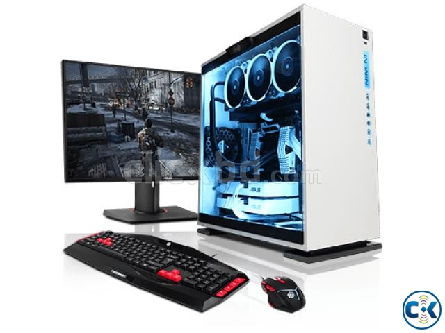 DESKTOP CORE i5 4GB 500GB 17 LED | ClickBD large image 0