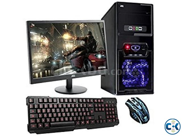 GAMING 7TH GEN CORE i3 3. 9G 4GB 19 LED | ClickBD large image 2