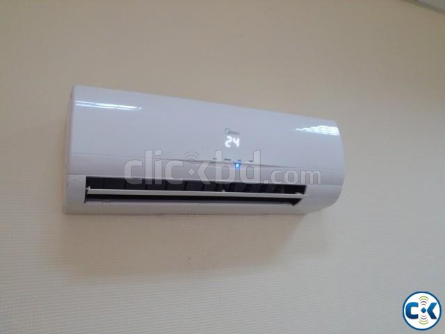 Brand New and Intake Box MIDEA 1.5 Ton AC | ClickBD large image 0