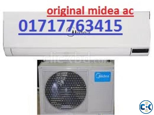 Brand New and Intake Box MIDEA 1.5 Ton AC | ClickBD large image 1