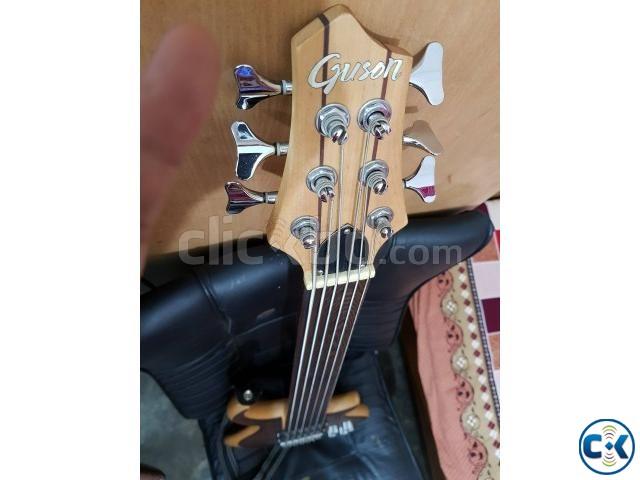 Guson 6 strings fretless bass   ClickBD large image 0