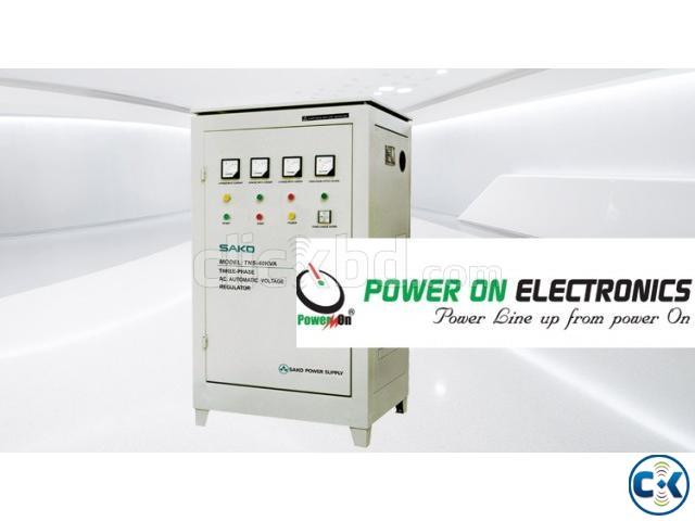 Power On Stabilizer SAKO Three Phase -100000 VA SERVO | ClickBD large image 0