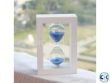 White Wooden Sand Timer Hourglass Sand Clock Timer gift