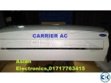Original Carrier AC 1.5 TON 18000 BTU Warrenty 3 yrs