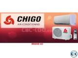 ENERGY SAVINGS 60% 1 TON CHIGO BRAND AC