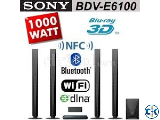 Sony Home Theatre E6100 Bluray DVD 1000watt | ClickBD large image 0