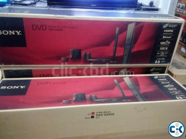 Sony Home Theatre dz650 1000watt | ClickBD large image 2