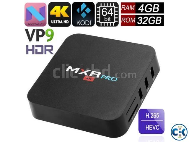 MXRPro 4GB 32GB Android 7.1.1 4K Tv Box HDR VP9 KODI 17.6 | ClickBD large image 0