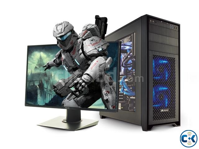Core i3 Gaming pc 4GB 320GB 17 LED | ClickBD large image 0