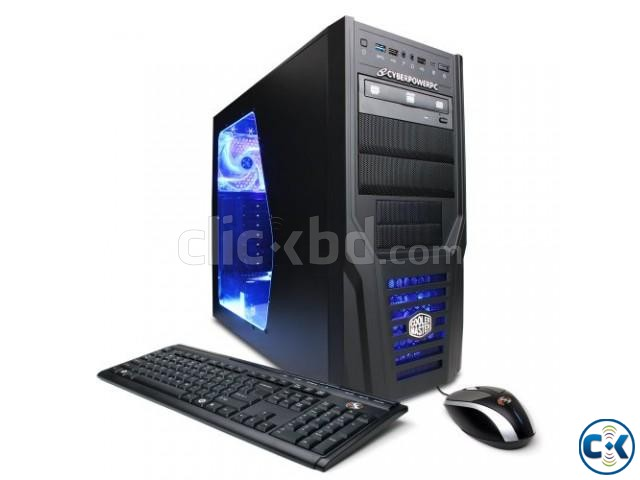Core i3 Gaming pc 4GB 250GB 17 LED | ClickBD large image 2