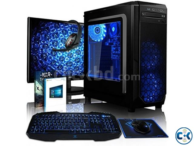 Core i3 Gaming pc 4GB 250GB 17 LED | ClickBD large image 3