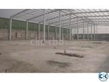 warehouse storage.