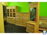 Chittagong teak sagoon 3 pcs furniture