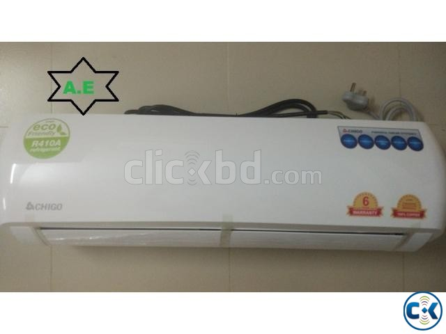 100 Original Brand New Chigo 2 Ton Split Type AC | ClickBD large image 0