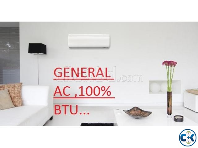 1.0 Ton General Wall Mounted Type AC | ClickBD large image 1
