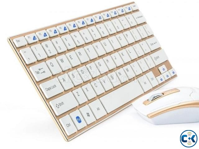 wireless mouse and keyboard set | ClickBD large image 0