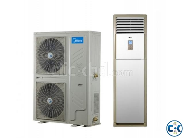 MIDEA 2 Ton Floor Standing Air Conditioner | ClickBD large image 0