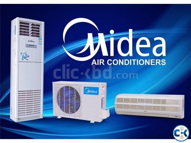 MIDEA 2 Ton Floor Standing Air Conditioner | ClickBD large image 2