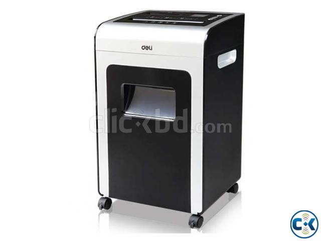 Deli 9917 16 Sheets A4 Size Paper Shredder Machines | ClickBD large image 0
