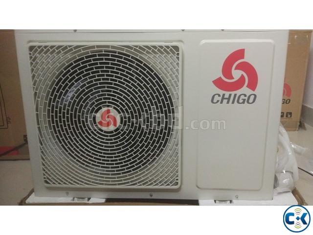 chigo 1 ton split type air conditioner | ClickBD large image 1