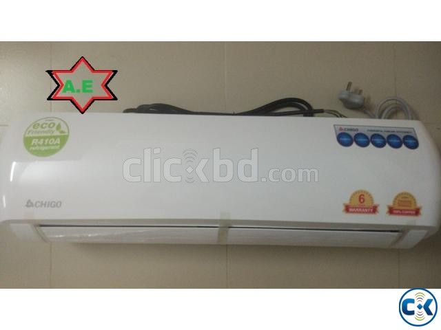 chigo 1 ton split type air conditioner | ClickBD large image 1