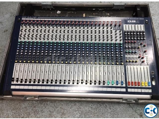 Soundcraft GB-4-24 With flight case Origina england | ClickBD large image 0