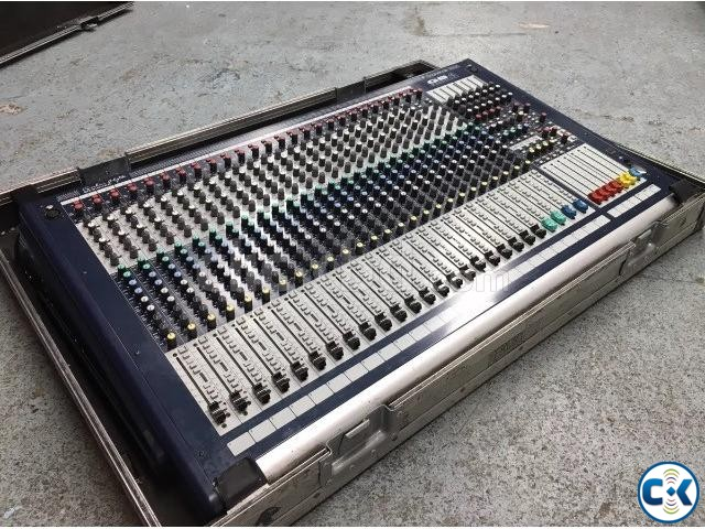 Soundcraft GB-4-24 With flight case Origina england | ClickBD large image 1