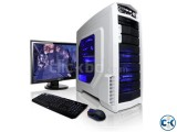 GAMING CORE i3 2GB 250GB 17 LED PC