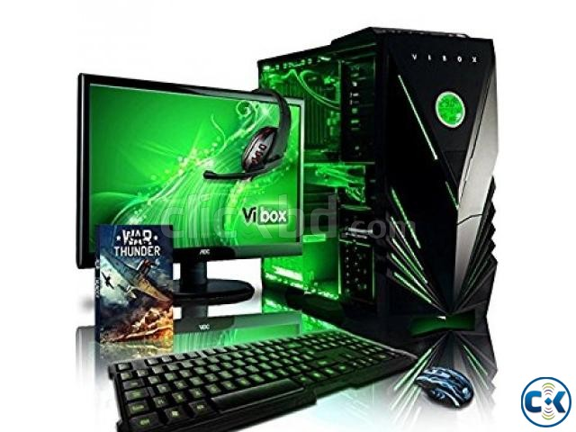 GAMING 7TH GEN CORE i5 4GB 1000GB 19 LED | ClickBD large image 2