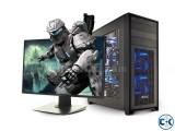 New 7TH gen Gaming PC Core i5 4GB 1000GB