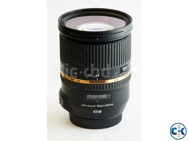 TAMRON SP 24-70mm F 2.8 DI VC USD Lens for Canon | ClickBD large image 1