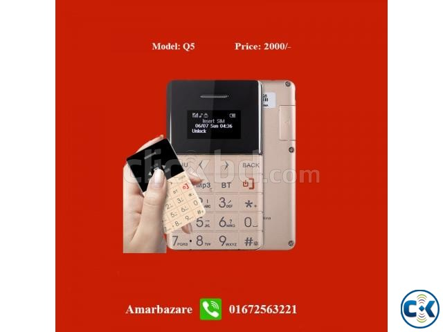 Card phone Q5 | ClickBD large image 0