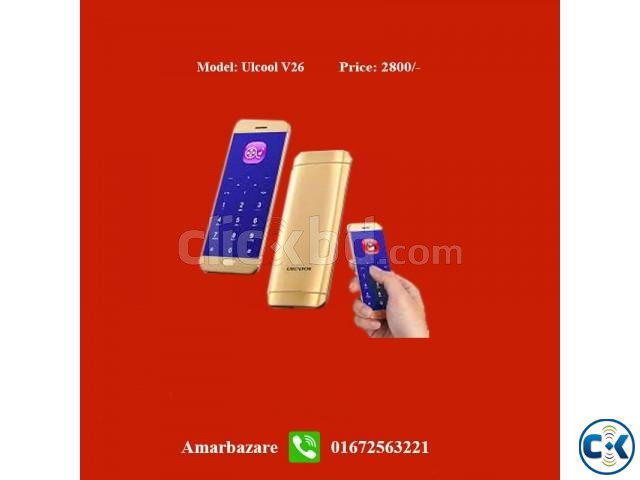 Card Phone ULCOOL V26   ClickBD large image 0