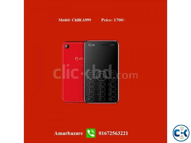 Chilli A999 Card Phone | ClickBD large image 0