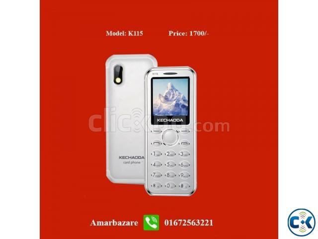 Card phone mini kecho k115 | ClickBD large image 0