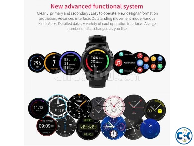 Microwear H1 android 4.4 Smart watch | ClickBD large image 3