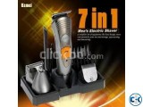 Kemei 7 in 1 Shaving kit Intact Box