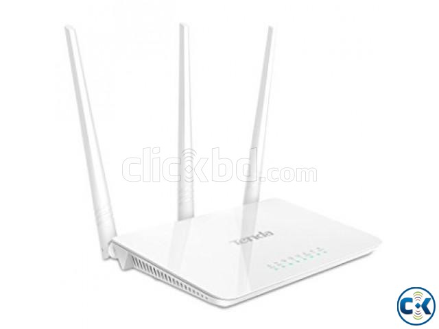 Tenda F3 300Mbps Wi-Fi Router | ClickBD large image 0
