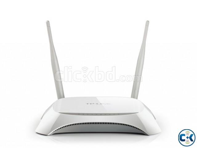 TP-Link TL-WR840N V2 300Mbps Router | ClickBD large image 0