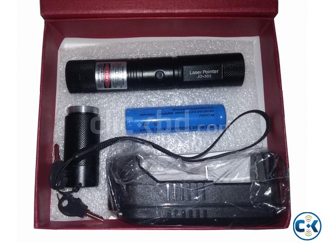 1000mW Powerful Rechargeable Green Laser Light with Warranty | ClickBD large image 0