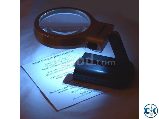 Illuminated Magnifier Glass LED Folded | ClickBD large image 0
