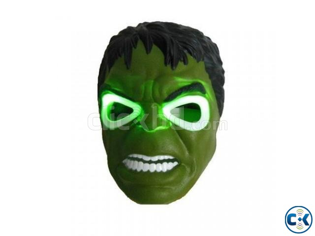 Avengers Series LED Hulk Mask | ClickBD large image 0