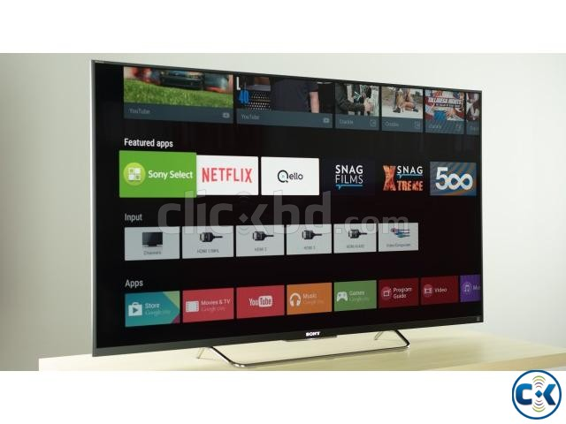 SONY BRAVIA 55 3D ANDROID TV W800C WITH 1 YEAR GUARANTEE | ClickBD large image 2